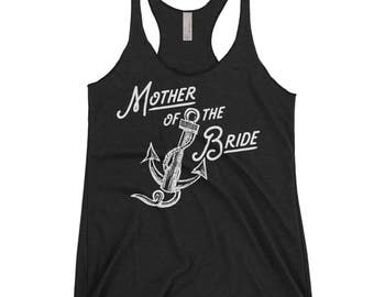 Mother of The Bride Tank Tops. Bridal Party Tanks. Mother of The Bride Shirt. Bachelorette Party Tanks