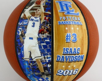 Customized Basketball-Perfect For High School Senior Gift, Athletic Achievement Awards, Coaches Gifts, Wedding Parties, Bar and Bat Mitzvahs