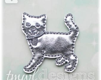 "Cat Board Game Token Feltie Digital Design File - 1.75"""