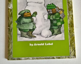 Frog and Toad All Year by Arnold Lobel --- Vintage Scholastic I Can Read Children's Book --- Classic Storytime Library Nook Seasonal Tales