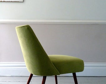 Vintage Mid-Century Italian Salotto Chair