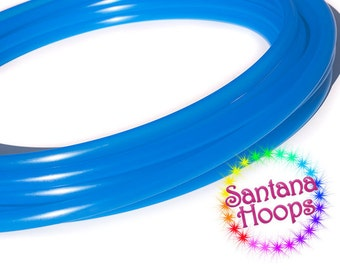 5/8 Mini Twins  UV Blue Agate Polypro Hula Hoop Minis