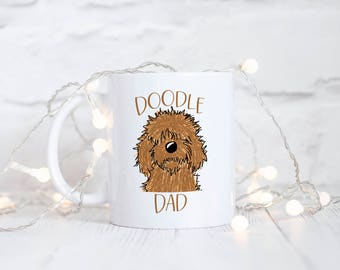 Doodle Dad Mug - Dog Dad - Golden Doodle Dad - Golden Doodle Mug - Dog Dad Mug - Funny Fur Dad - Funny Gifts for Dad - Father's Day Gift