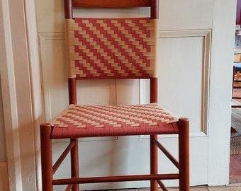 Shaker Canterbury Maple Paddedback Dining Chair