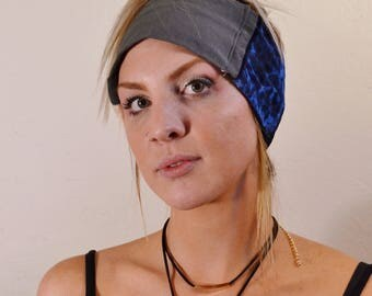 Heady Head Band Patchwork Head Band / Sleeping Eye Cover / Beauty Rest Insurer