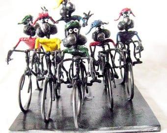 Mouse Tour De France Bicycle Race