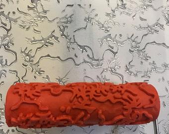 Pattern paint roller | Etsy