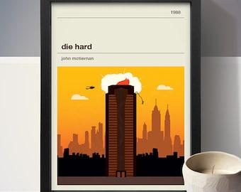 Die Hard Movie Poster - Movie Poster, Movie Print, Film Poster, Film Poster