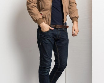 Camel Cotton Jacket.