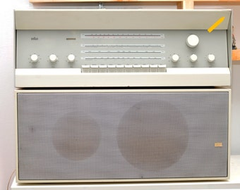 Braun RCS 9/ amplifier and receiver/with speaker/ second speaker for free
