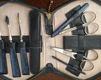 Vintage manicure set