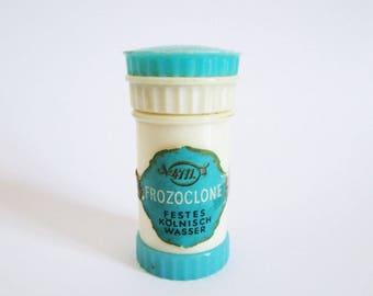 Rare vintage flacon of the 4711 perfume Kölnisch Wasser FROZOCLONE Festes Kölnisch Wasser