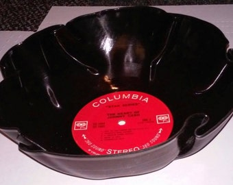 Johnny Cash record bowl Free Shipping