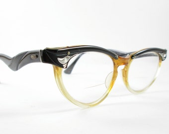 Cat Eye Bylite Glasses Vintage  Frames Vintage Eyewear Mid Century
