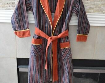 Boys Vintage Big Top Flannel Robe Size 5