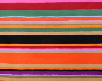 Striped orange-colored cloth