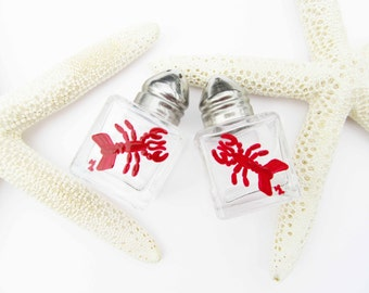 Lobster Mini Salt & Pepper Shakers | FREE SHIPPING