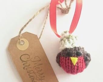 Christmas Robin decoration; Robin decoration; tree decoration; Robin tree decoration; stocking filler;  Robin decor; tree ornaments