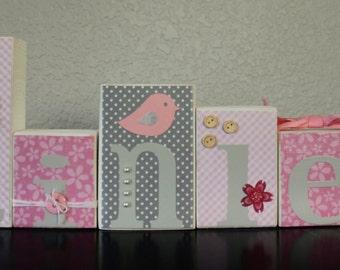 Cherry Blossom Nursery Cherry Blossom Baby Shower Gray Pink Floral Shower Grey Pink Floral Nursery Blossom Tree Nursery Birds Tree Nursery