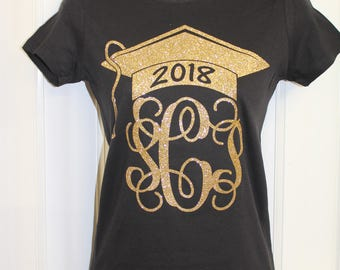 Class Of, Personalized Monogram Tee