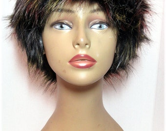 Russian Style Luxurious long pile Faux Fur Hats Multi Color