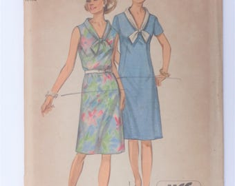 Vintage 1971 Simplicity Pattern 9330 size 12 & 18