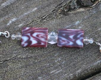 Purple and Stuff Cartigan Clip/Shawl Gem