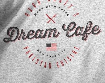 The Dream Cafe T-shirt - Babu Bhatt Seinfeld Shirt - Small - 5xl - Unisex