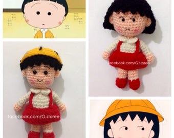 Chibi Maruko Chan Amigurumi pattern - crochet doll pattern