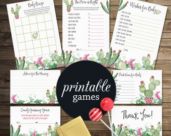 fiesta baby shower games boho baby shower games package girl baby shower games