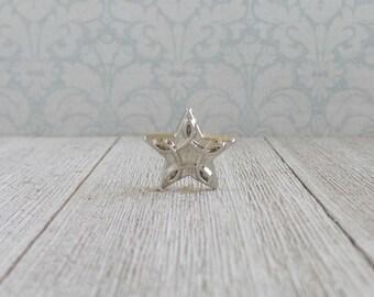 Silver Star - Accomplishment - Award - Ceremony - Remembrance - Lapel Pin