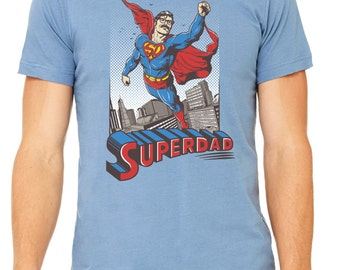 Superdad Tee, t-shirt, dad shirt, t shirt, gift for dad, dad stuff, funny