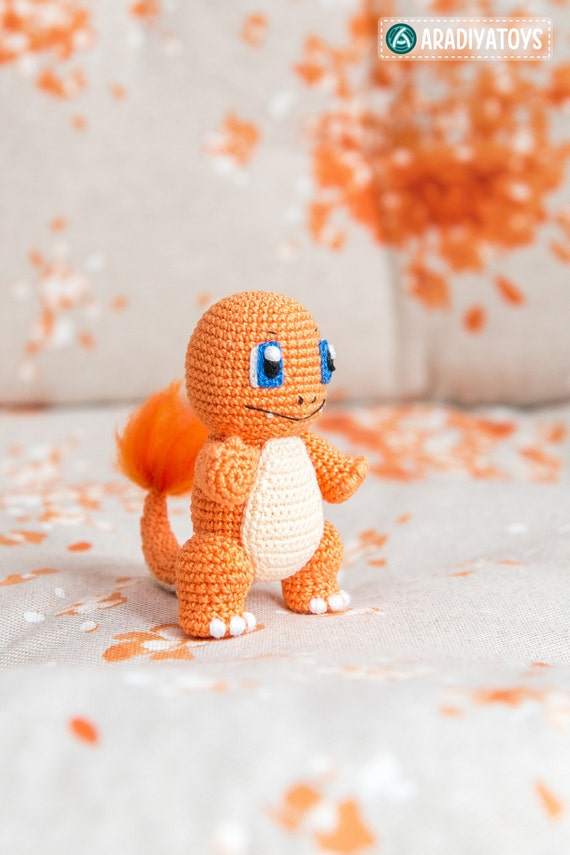 Amigurumi Charmander Tutorial : Crochet Pattern of Charmander from