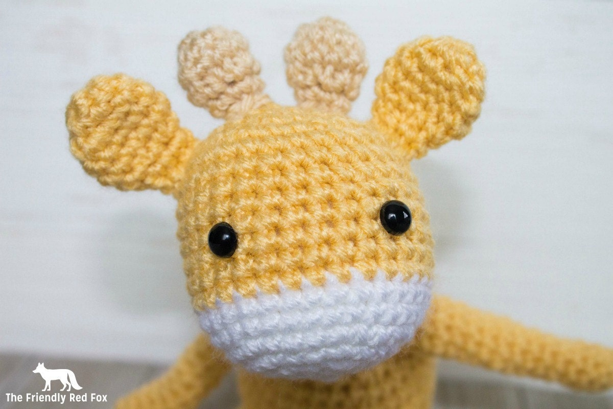 Amigurumi Giraffe Pattern Free : Giraffe crochet pattern amigurumi mini
