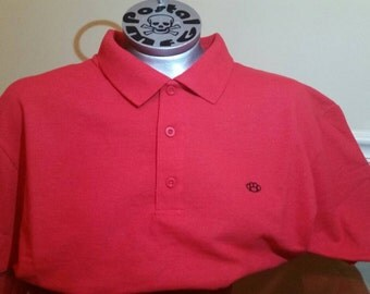 Hooligan Brass Knuckles Red Polo