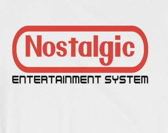 Nostalgic Entertainment System T-shirt Mini NES