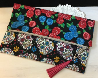 20% OFF Zippered Fold Over Clutch