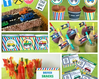 Transportation Birthday - Transportation Party - Transportation Decor - Transportation Birthday Party -1st birthday Party (Instant Download)
