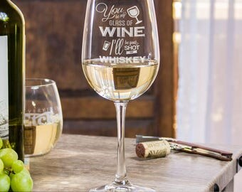 Funny Wine Glasses, 21st Birthday Gift, Wine Glasses For Friends, Housewarming Gift, Birthday Party Glasses, Custom Wine Glasses