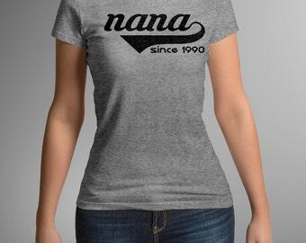 mothers day gift - nana gift - nana shirt - grandma gift -  grandma shirt - personalized - gifts for nana - grandparents