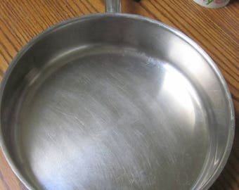Great Fry Pan Especially for Camping Two Handles One on each side 11 1/2 by 2 3/4 Inches Thick Heavy duty bottom  Well Equipped Kitchen