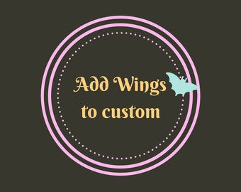 Add Wings to a Custom Figurine