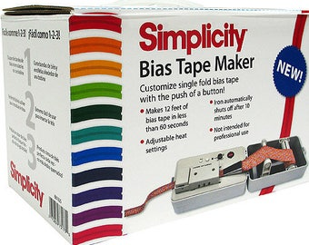 Simplicity Bias Tape Maker Machine - Simplicity Bias Tape Machine - Bias machine - bias maker