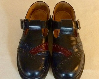Dr Martin Mary Janes, Wing Tip Style
