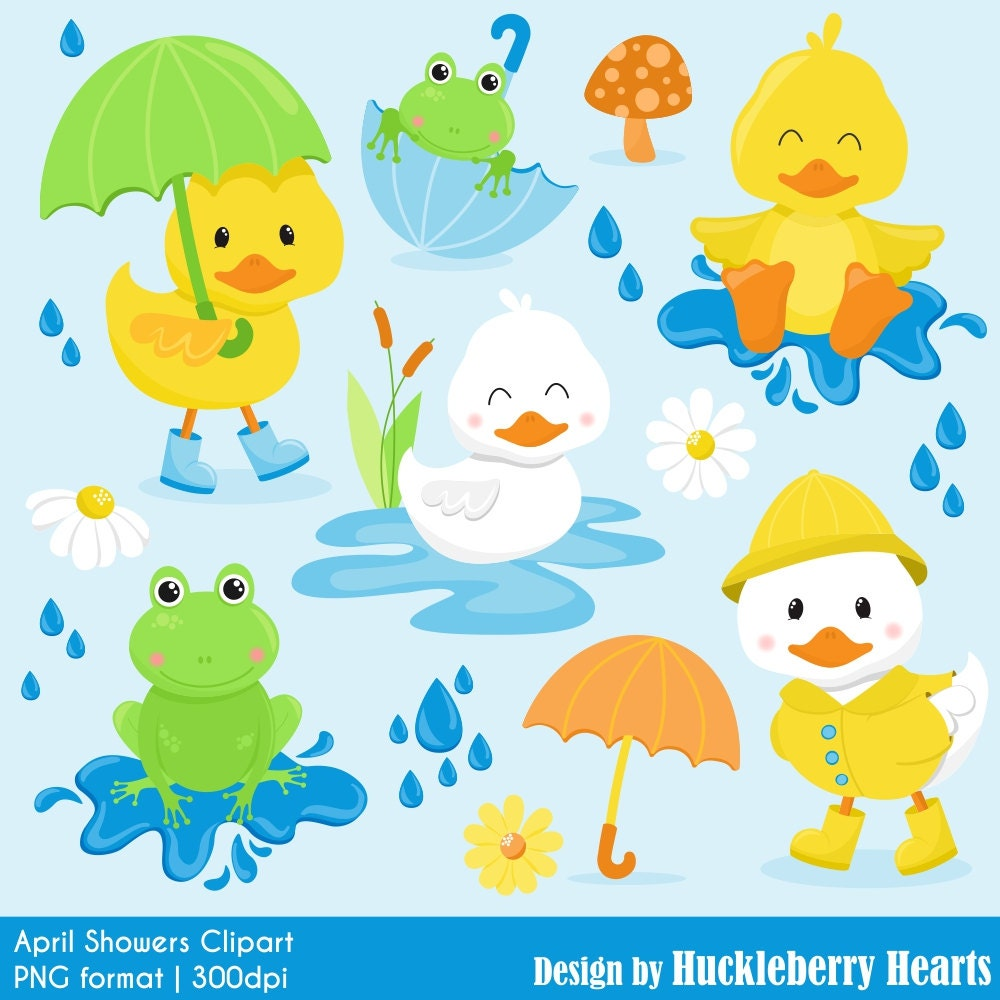 clipart spring showers - photo #22