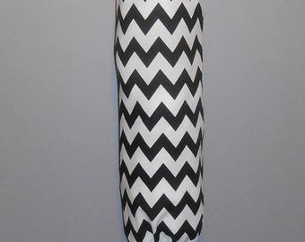 Grocery Bag Holder - Plastic Bag Holder - Bag Dispenser - Chevron - Various Colors