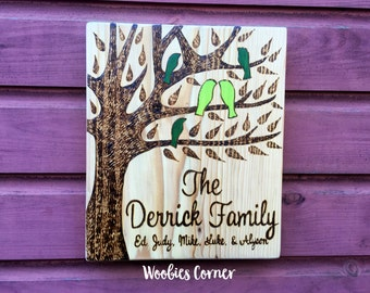 Custom family sign, Family name sign, Custom sign, Family tree, Custom family sign, Wooden family sign, Personalized sign, Family wood sign