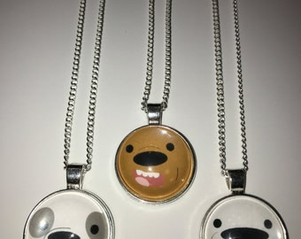 We Bare Bears Fan-Made Necklaces