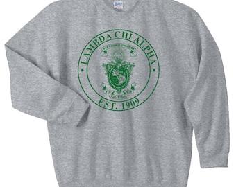Lambda Chi Alpha Crest Sweatshirt