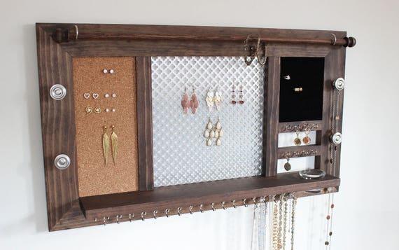 Wall Hanging Jewelry Organizer Jewelry Display Jewelry